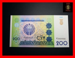 UZBEKISTAN 200 Som 1997  P. 80  UNC - Uzbekistan