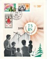BELGIE    1360/62  RERUM NOVARUM - Cartes Souvenir
