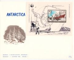 BELGIE    BL 42 ANTARCTICA - Cartes Souvenir