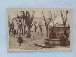 Saint-Arnaud. ( Place De La Gendarmerie) Algérie - Otras Ciudades