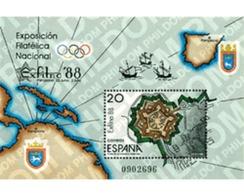 Ref. 85789 * MNH * - SPAIN. 1988. EXFILNA 87. NATIONAL PHILATELIC EXHIBITION . EXFILNA 87. EXPOSICION FILATELICA NACIONA - Bateaux