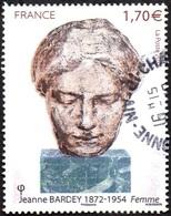 France Oblitération Cachet à Date N° 5154 Jeanne Bardey « Femme » - 2010-.. Matasellados