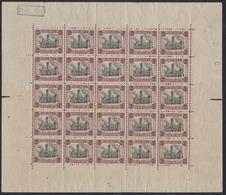 """Dendermonde - F182Aa ** Neuf Sans Charnières, MNH (Planche V) + Dépot """"1920"""". Fraicheur Postale / Cote 1250e - Full Sheets"""
