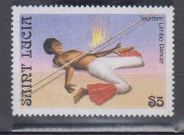 St. Lucie     1986          N °  847        COTE       5 € 50       ( Q 381 ) - St.Lucia (1979-...)