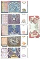 OUZBEKISTAN 3-5-10-25-50-100 SUM 1994 UNC P 74 A 79 ( 6 Billets ) - Uzbekistan