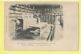 * Antwerpen - Anvers - Antwerp * (G. Hermans, Nr 518) Museum Plantin Moretus, Grande Bibliothèque, Library - Antwerpen