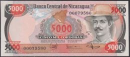 Ref. 2209-2632 - BIN NICARAGUA . 1985. NICARAGUA 5000 CORDOBAS 1985 - Nicaragua