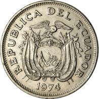 Monnaie, Équateur, Sucre, Un, 1974, TTB, Nickel Clad Steel, KM:83 - Ecuador
