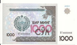 OUZBEKISTAN 1000 SUM 2001 UNC P 82 - Uzbekistan
