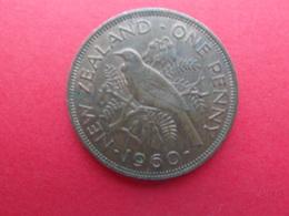 New Zealand  1 Penny  1960  Km 24.2 - Nueva Zelanda