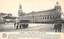 Ostende (Belgique) - Place D'Armes Et Hôtel De Ville - Oostende