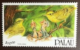 Palau 1992 Birds Warbler MNH - Zonder Classificatie