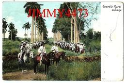 TARJETA POSTAL - CUBANA CUBA - GUARDIA RURAL - Scans Recto-Verso - Cuba