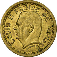 Monnaie, Monaco, 2 Francs, Undated (1943), TTB, Cupro-Aluminium - Mónaco