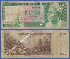 GUINEA BISSAU 1000 PESOS 1978 LUIS CABRAL (Glorification Of Triumph) - Guinea-Bissau