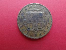 Jamaique  1 Penny  1957  Km 37 - Jamaica