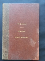 1863 - Historique Généalogique & Biographique Maison BETHUNE HESDIGNEUL - Ch Poplimont - Extrait Belgique Héraldique - Bélgica