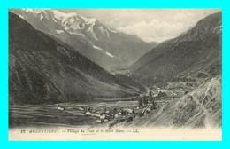 A702 / 097 74 - ARGENTIERES Village Du Tour Et Le Mont Blanc - Andere Gemeenten