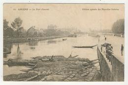 80 - Amiens - Le Port D'Amont - Amiens