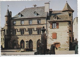 CP ( Salers - Hotel De Ville ) - Autres Communes