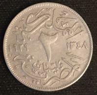 EGYPTE - EGYPT - 2 MILLIEMES 1929 ( 1348 ) - KM 345 - ( Fuad I ) - Aegypten