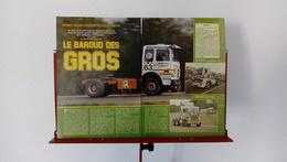 Ancienne Coupure De Presse Automobile 24 Heures Du Mans Camions - Trucks