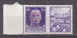 PGL - ITALY RSI WAR PROPAGANDA SASSONE N°33 ** - 4. 1944-45 Social Republic