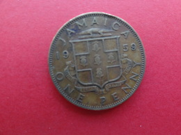 Jamaique  1 Penny  1959  Km 37 - Jamaica