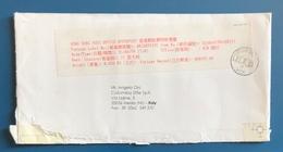STORIA POSTALE, BUSTA DI POSTA VELOCE - POSTAL HISTORY, SPEED POST LETTER, ANNO/YEAR 1999 - 1997-... Chinese Admnistrative Region