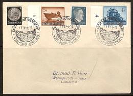 WW II - Briefumschlag Mit Sondermarke + Sonderstempel - Schatzlar (Rieseng F.B.) Wald. Berge. Höhenluft. 17/05/1944 - Covers & Documents