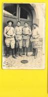 Carte Photo Soldats Chasseurs Alpins? - Régiments