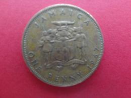 Jamaique  1 Penny  1967  Km 39 - Jamaica