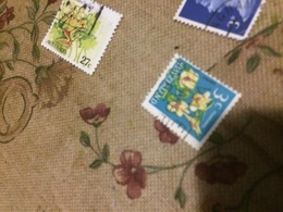 NUOVA ZELANDA I FIORI 1 VALORE - Briefmarken