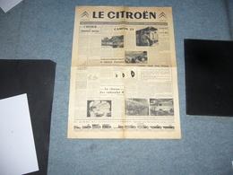 (  Automobile Camion Autobus ) Le Citroen 1958 - Auto