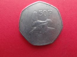 Irlande  50 Pence 1988  Km 24 - Irlanda