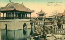 Cpa TIANJIN - TIENSIN - Tea House - Theehaus - China