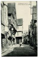 Ref 1356 - Early Postcard - Chinon Indre-et-Loire France - Vielles Maisons Du XV - Chinon