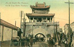 Cpa TIANJIN - TIENSIN - KU - LO City Gate - Stadt Tor - China