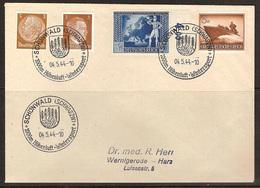 WW II -Briefumschlag Mit Sondermarke + Sonderstempel. Schönwald (Schwarzw) 1000m Höhenluft - Wintersport. 04/05/1944 - Germany