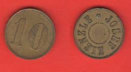 Gettoni Tokens Pièce De Monnaie Josef Kienzle 10 Cent - Tokens & Medals