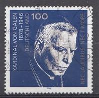 Bund  1996  Mi.nr.: 1848 Todestag Von Clemens August...   Gestempelt / Oblitérés / Used - Oblitérés