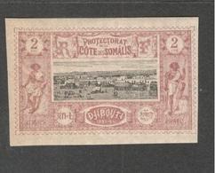 FRENCH SOMALI COAST....1894-1900:Yvert 7mh*with Gum - Côte Française Des Somalis (1894-1967)