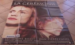 AFFICHE CINEMA ORIGINALE FILM LA CEREMONIE + 12 PHOTOS EXPLOITATION CHABROL BONNAIRE HUPPERT 1995 TBE - Plakate & Poster