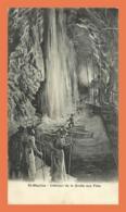 A722 / 495 Suisse SAINT MAURICE Intérieur De La Grotte Aux Fées - VS Valais