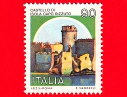 Nuovo - MNH -ITALIA - 1980 - Castelli D'Italia - Castello Di Isola Capo Rizzuto (KR) Calabria - 90 - 6. 1946-.. Repubblica