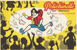 "Buvard Illustré Neuf - Sous Vêtements "" POLICHINELLE"". - Textile & Clothing"