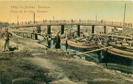 Cpa TIANJIN - TIENSIN - Chia - Ta Bridge - Brücke - China