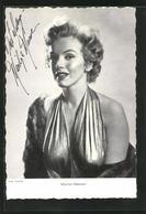 AK Schauspielerin Marilyn Monroe In Sexy Abendkleid Mit Pelz - Attori