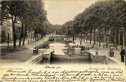 027 567 - CPA - Pays-Bas - Harlingen - Rozengracht - Harlingen