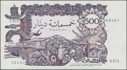 Algeria / Algerien: 500 Dinars 1970, P.129a, Unfolded And Almost Perfect Condition, Just Some Pinhol - Algerije